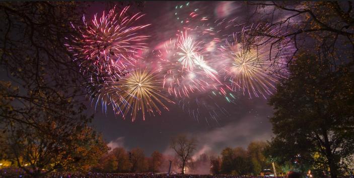 firework displays Brisbane