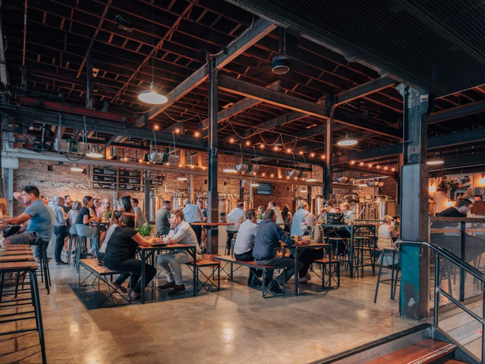 stone and wood breweries tour
