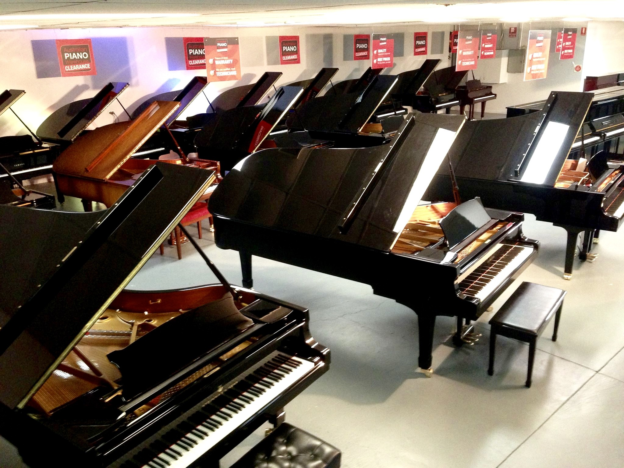 piano warehouse brisbane