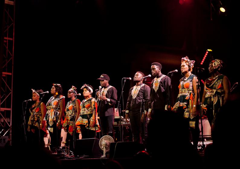 African gospel choir